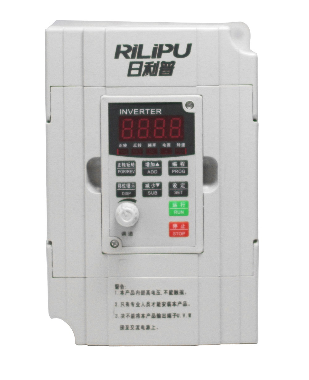 0.4kw 400W New VFD Inverter General Frequency Inverter 380v  Single phase 380V input Three phase output 2 2kw single phase input to 380v output three phase inverter vfd driver good in condition for industry use module vector