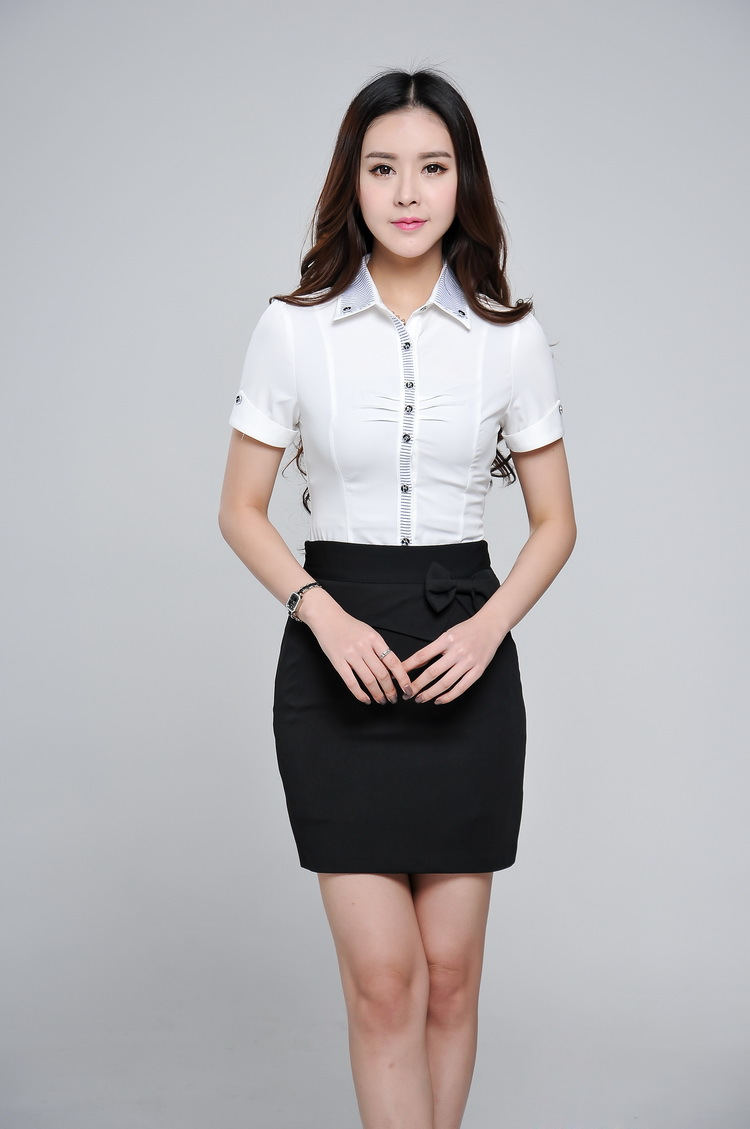 ce76e5b6aebd New 2015 Summer Formal Professional Clothes Office Uniform Design Women  Business Suits with Skirt and Blouse Clothing Sets