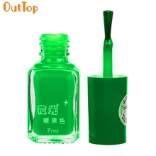 ФОТО outtop nail polish 20 color choice fluorescent neon luminous nail gel polish nail varnish manicure drop shipping 70825