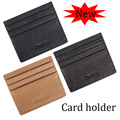 Men's Card Holder Cow Leather Credit Card Wallet Slim Business Card holders men Mini wallet FGS40