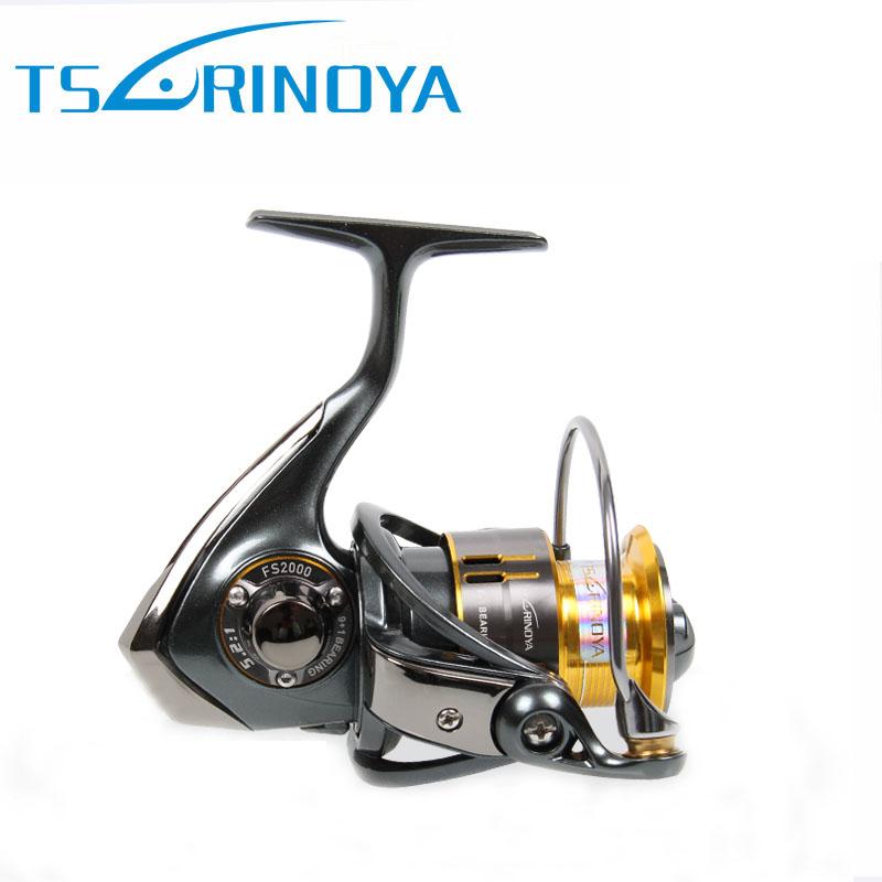 Prix pour Tsurinoya FS800 1000 Bobines De Rotation de Métal Bobine Attrait Bobine 9 + 1BB 5.2: 1 Rock De Pêche Roue Molinete Peche Par Pesca Carpe bobine