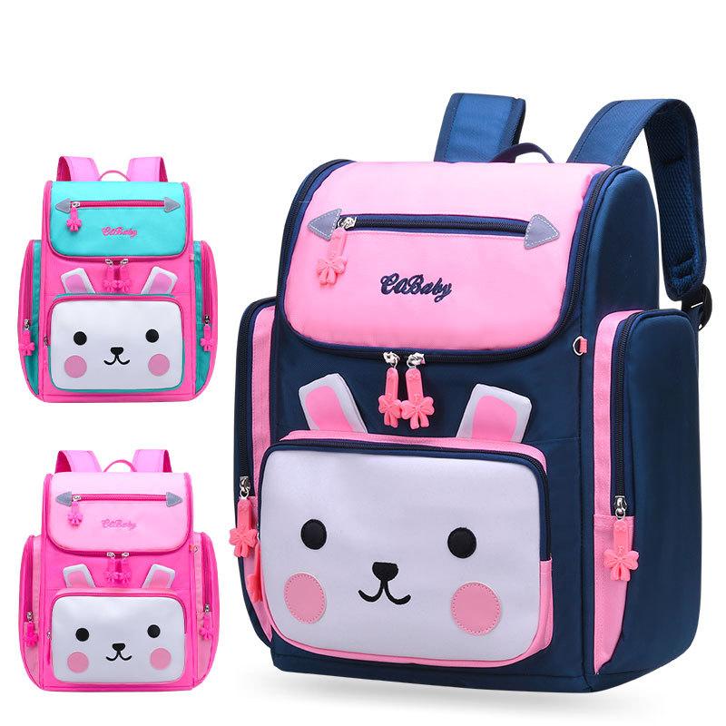 2019 Girls School Bags Children Backpack Primary Bookbag Orthopedic Princess Schoolbags Mochila Infantil Sac A Dos Enfant