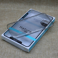 For A720F Case Nillkin Nature Transparent Clear Soft Silicon TPU Protector Case Cover For Samsung Galaxy