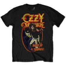 цена на Custom T Shirts Cheap Compression Men O-Neck Short-Sleeve Ozzy Osbourne 'Diary Of A Mad Man T Shirts