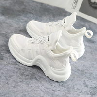 Casual shoes ladies new fashion Ins ladies flat shoes spring and summer wild breathable platform shoes Chaussures de sport