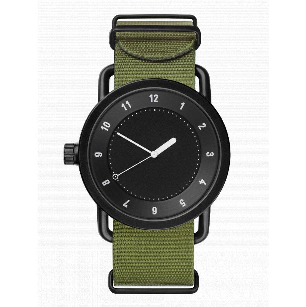 Dropshipping Simple Fashion Lover Quartz Wristwatch Canvas Nylon Belt Wome Men Daily Cusual Watch Relogio Masculino