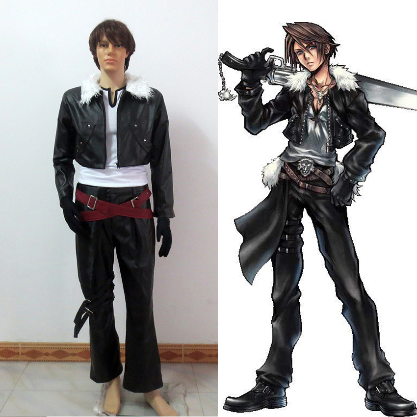 Game Anime Final Fantasy Squall Leonhart Cosplay Costume Custom-Made