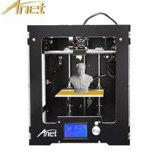 Анет A3 3D принтер Полный Собранный алюминиевый-акриловая рамка Высокая точность 3D комплект принтера трехмерной печати 1 кг нити