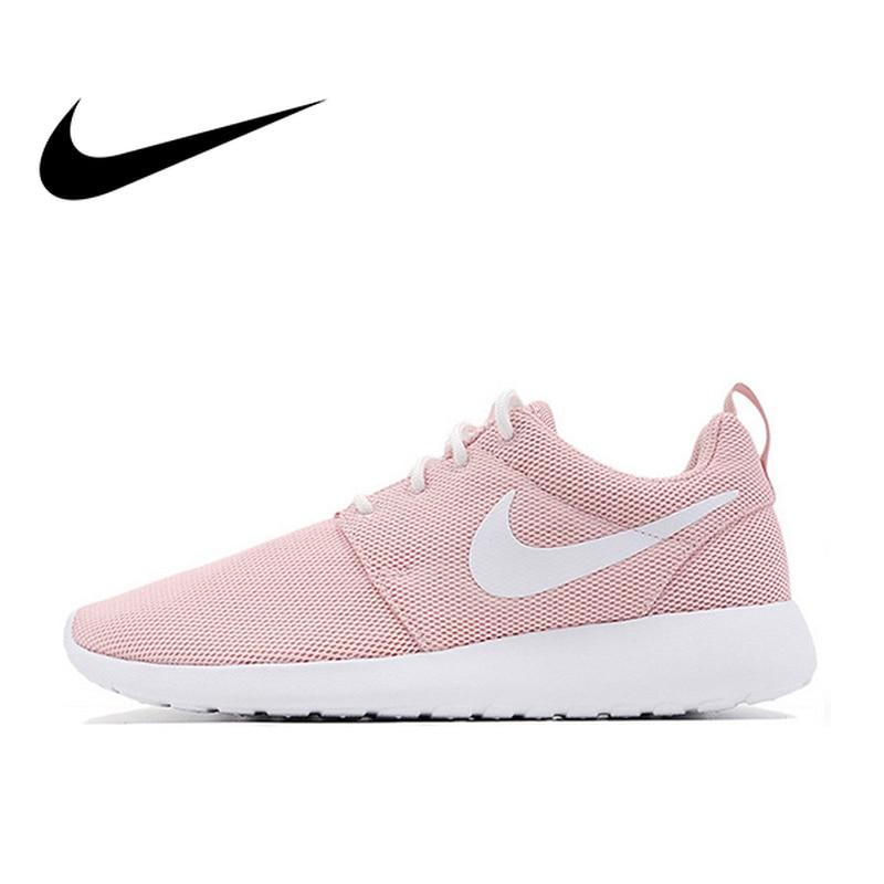 37b6377b Оригинальный Официальный Nike Roshe Run One дышащие женские кроссовки обувь  спортивная, кроссовки классический открытый теннисные туфли удобные