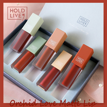 HOLD LIVE Brand 5pcs/lot Velvet matte lip Lipstick Waterproof Nutritious stick Red Tint Nude batom makeup set
