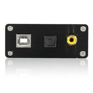 Image 4 - LEORY HIFI USB carte son DAC à S/PDIF PCM2704 convertisseur Audio numérique à analogique convertisseur coaxiale optique DAC décodeur PRO convertisseur