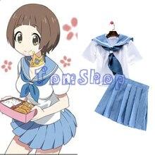 Аниме убийство ла убийство мако mankanshoku косплей девушки школьная форма хеллоуин костюм fancy dress размер s-xl бесплатная доставка доставка