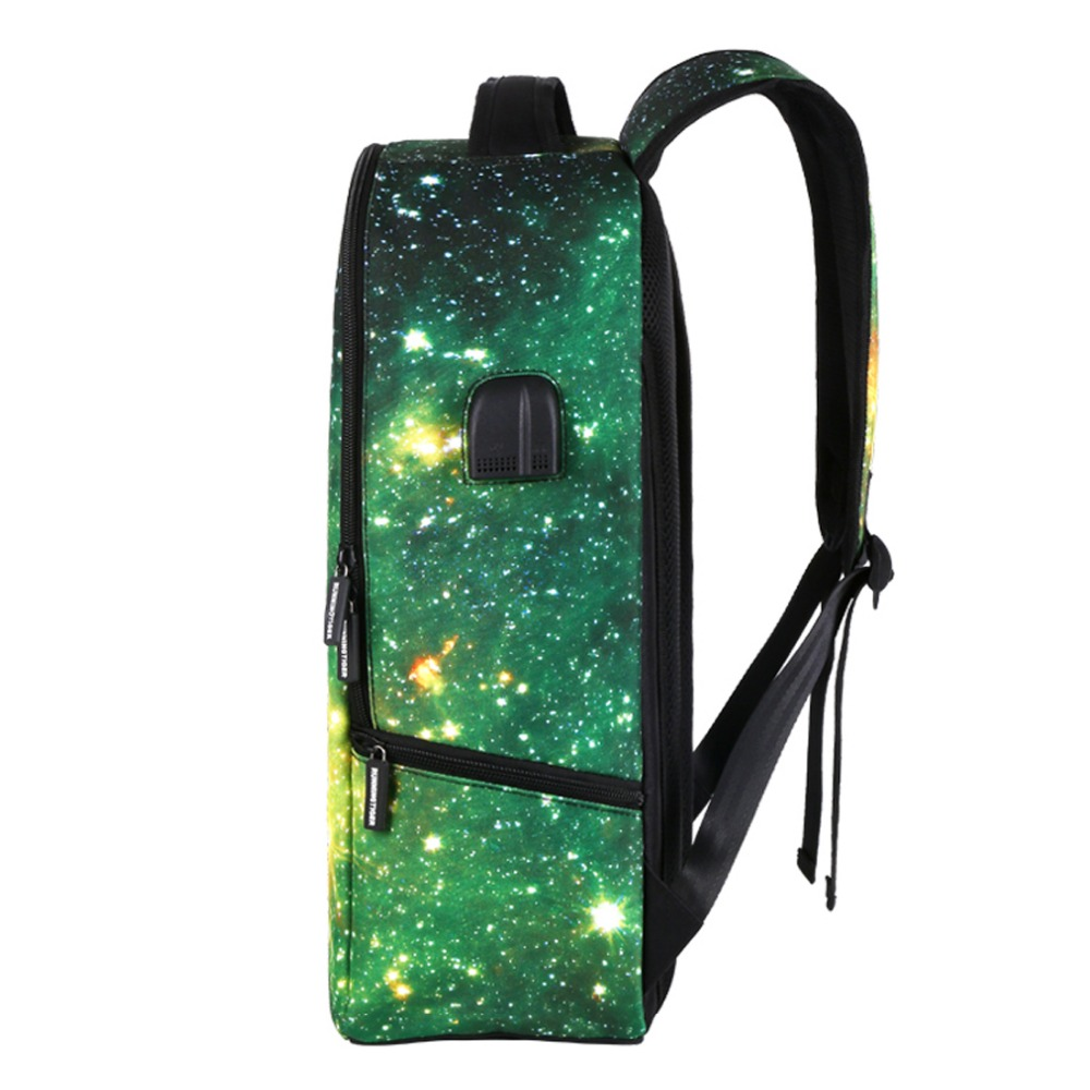 WISHOT BTS Luminous Backpack Multifunction USB Charging Waterproof Anti  theft Large Capacity Travel bag Stars Universe Space -in Backpacks from  Luggage ... a4f907f6247b7