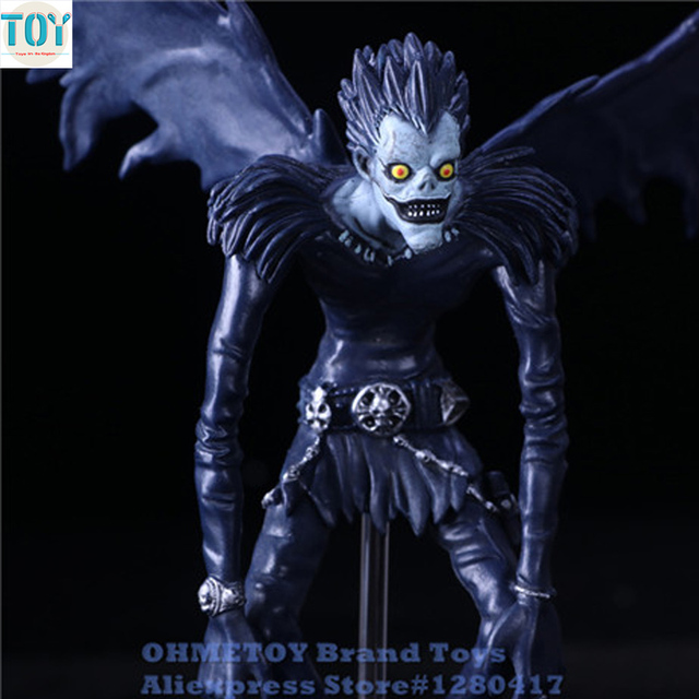 OHMETOY Death Note L Killer Ryuuku Ryuk Deathnote Action Figure Toys - death note