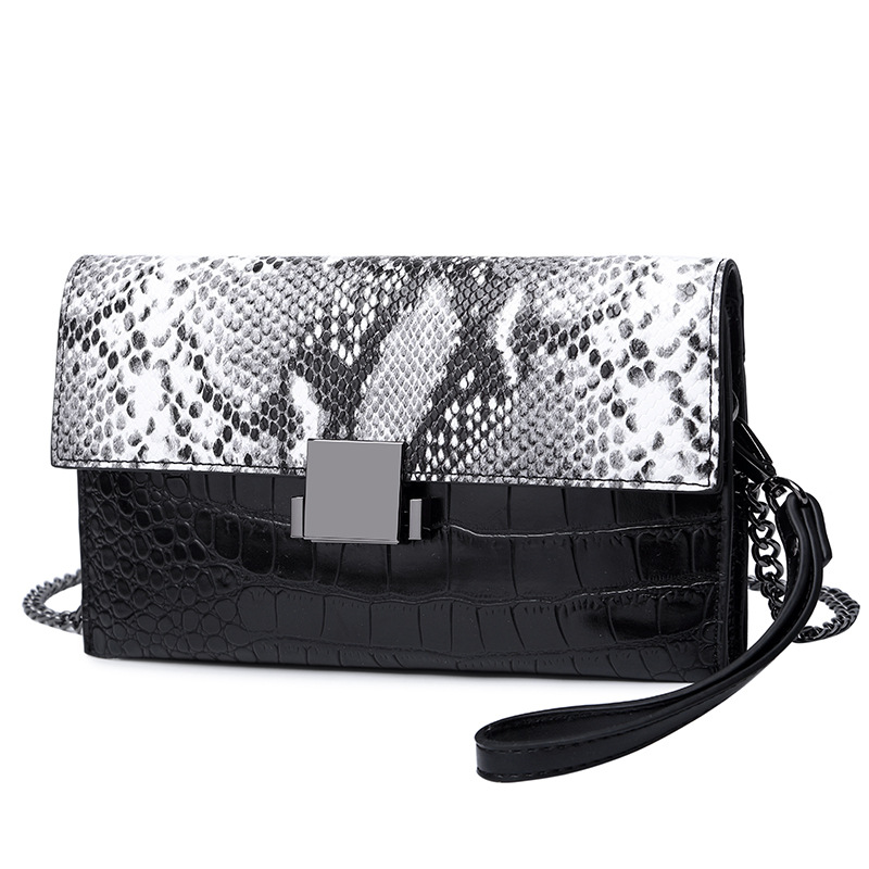Handbag Chain-Bag Shoulder-Messenger-Bags Wallet Women Cowhide Fashion Clutch America