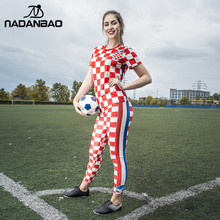 2018 Croatia Summer Women Leggings