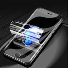 цены на 3D Full Cover Hydrogel Film For iPhone 6 6s 7 8 Plus 5 5s se X Screen Protector For iphone 7 8 Plus X Film (Not Tempered Glass )  в интернет-магазинах