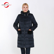 Modern New SAGA 2019 Autumn Women Jacket Zipper Hooded Coat High Quality Thick Cotton Padded Parkas Warm