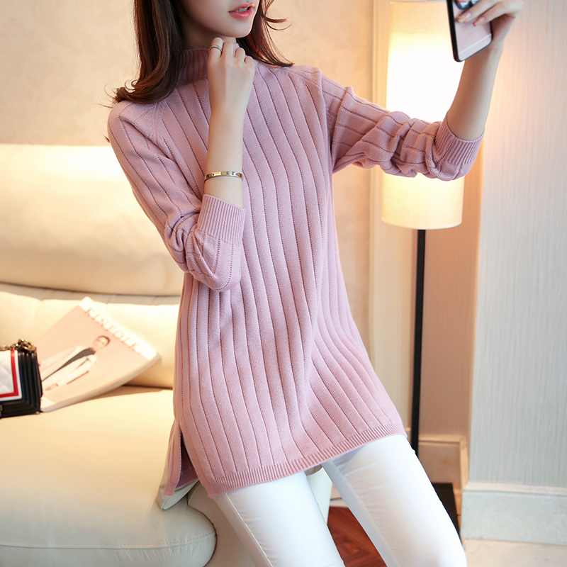 Cheap Wholesale 2018 New Autumn Winter Hot Selling Women's Fashion Casual Warm Nice Sweater  G198