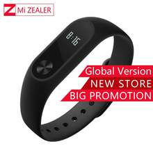 Global Version Xiaomi Mi Band 2 Smart Bracelet Fitness Tracker Heart rate Monitor