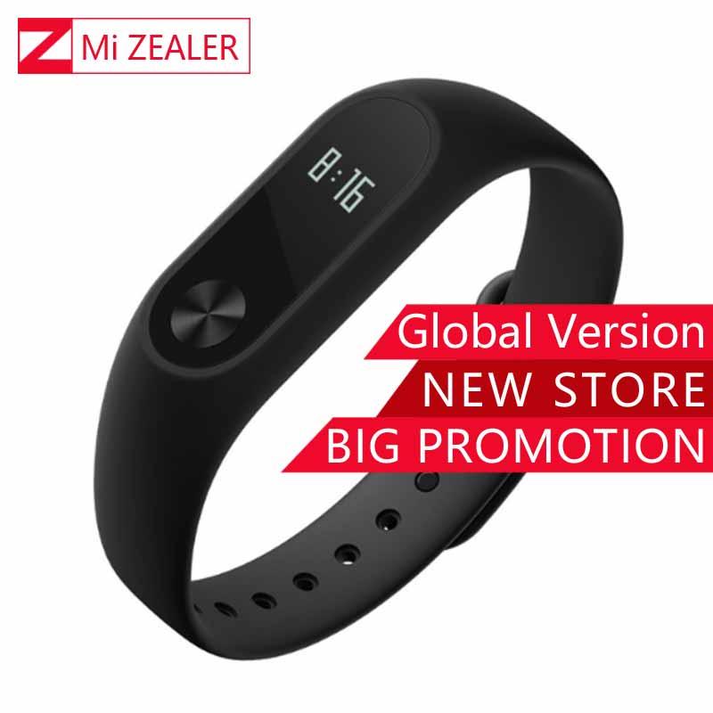 Глобальная версия Сяо Mi mi Группа 2 смарт-браслет mi Группа 2 Фитнес трекер Android браслет сердечного ритма мониторы