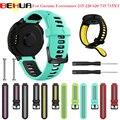 Открытый браслет для Garmin Forerunner 735XT 735/220/230/620/630 S20 Смарт-часы Мягкая замена для силиконового ремешка