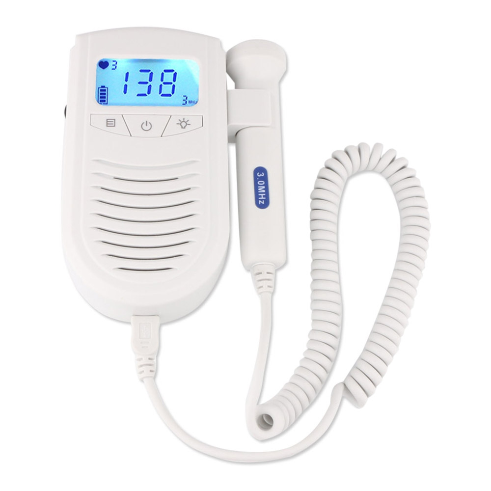 Fimei 100S6 II Pregnant Women LCD Digital Display Fetal Doppler Mom Baby Heart Rate Monitor Prenatal Detector Health Monitor 10piece 100% new isl6307 isl6307crz qfn chipset