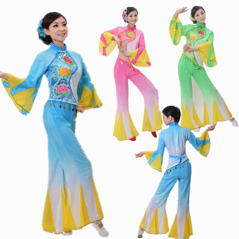 folklor woman classical traditional dance costumes for women chinese folk dance costume dance fairy hanfu china national