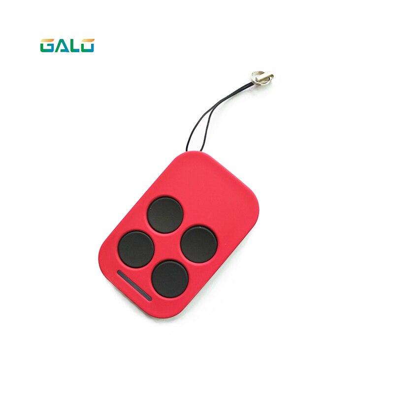 GALO red remote control transmitter for 220V 110V 24V DC sliding gate opener(no battery included)