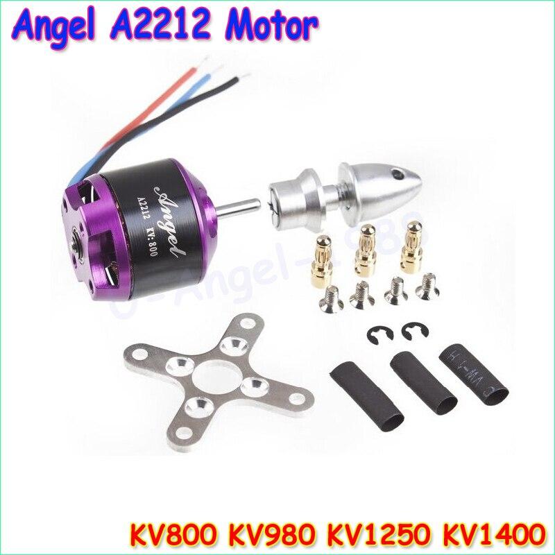Free Shipping SUNNYSKY Angel A2212 980KV KV800 KV1250 KV1400 Brushless Motor for MultiCopter KK MWC Quad