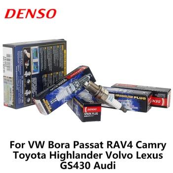 4pieces/set DENSO Car Spark Plug For VW Bora Passat RAV4 Camry Fiesta Highlander Volvo Lexus GS430 Audi SK20R11 iridium platinum