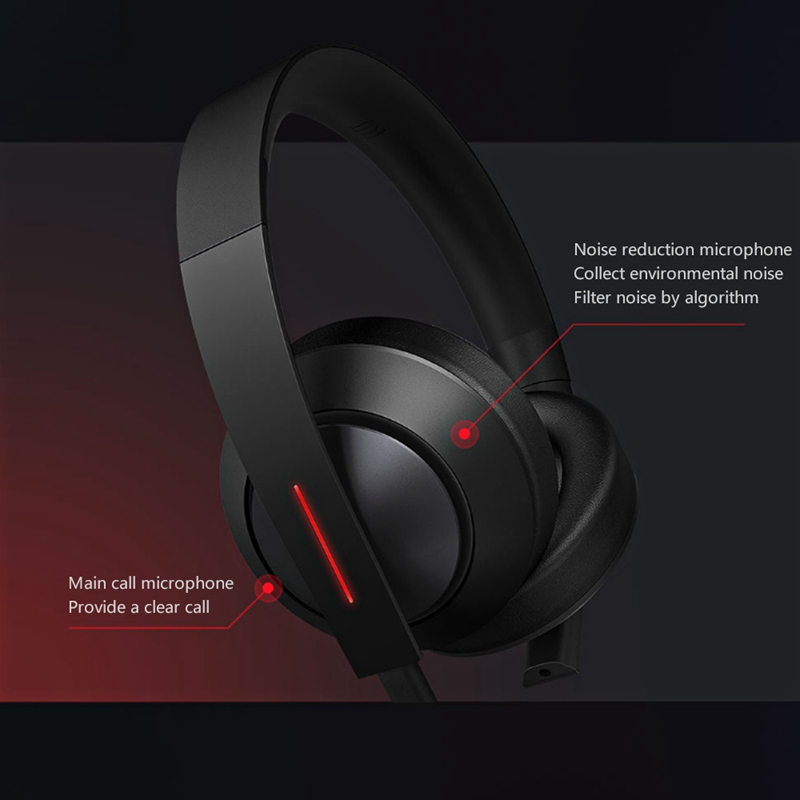 Image 4 - Original Xiaomi MI Gaming Headset 7.1 Virtual Surround Headphones 3.5mm With Microphone Noise Cancelling For PC PS4 Laptop Phone-in Phone Earphones & Headphones from Consumer Electronics