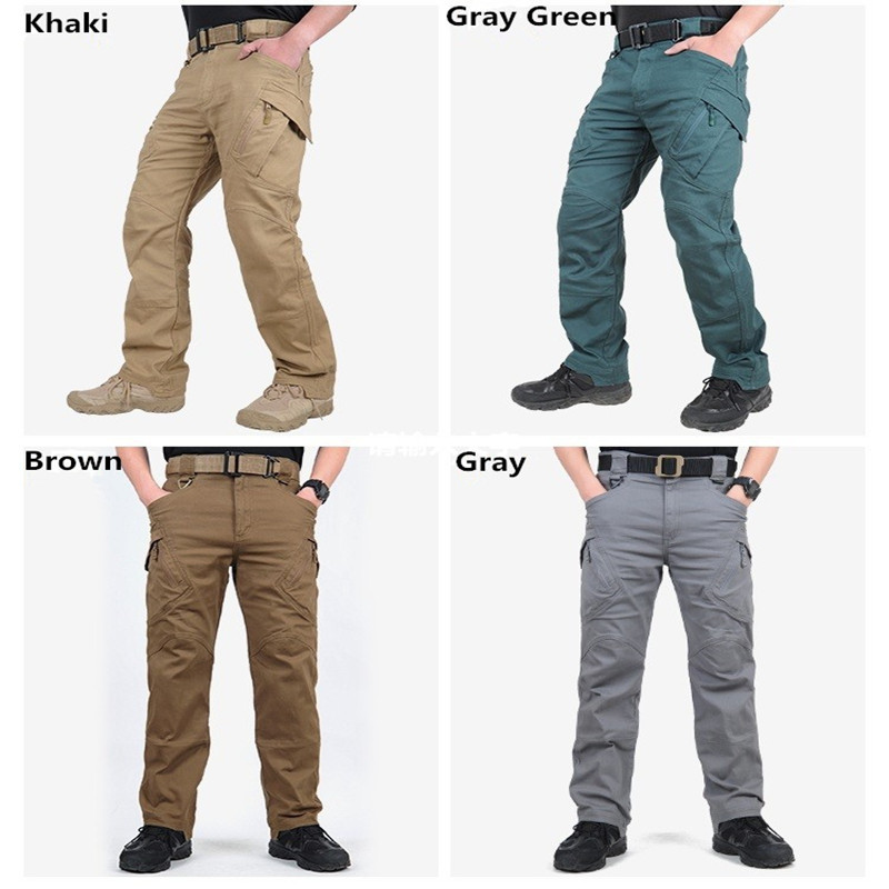 Low Price Good Quality IX9 Tactical War Game Cargo Mens Pants Camping Hiking Trousers Combat Army Military Active Pants 5 Color