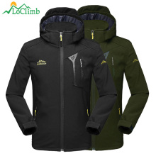 цены LoClimb Men's Hiking Jacket Men Spring/Autumn Windbreaker Climbing/Trekking Coat Outdoor Softshell Waterproof Jackets Man AM372