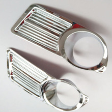 For Nissan Almera G11 g15 2012 2013 2014 2015 2018 Front Fog Light Lamp Cover Trim  Chrome Car Styling auto accessories