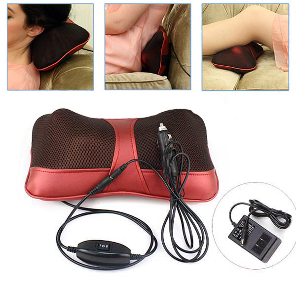 Hot-selling Shiatsu Neck and Shoulder Massage Device Cape Neck Kneading Heated Car&Home Dual Use Massager top grade vibration and kneading massage machine shoulder neck massage shawl car home dual use kneading neck shoulder massager