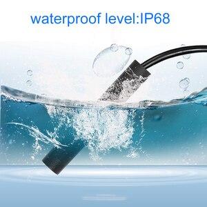 Image 4 - كاميرا تنظير واي فاي HD 1200P صغيرة مقاومة للماء سلك صلب لاسلكي 8 مللي متر 8 LED Borescope كاميرا لأجهزة الأندرويد PC لأجهزة IOS التنظير