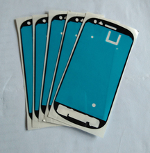 Front Frame Adhesive Sticker For Samsung Galaxy S3 mini i8190 High Quality 100pcs lot New Digitizer