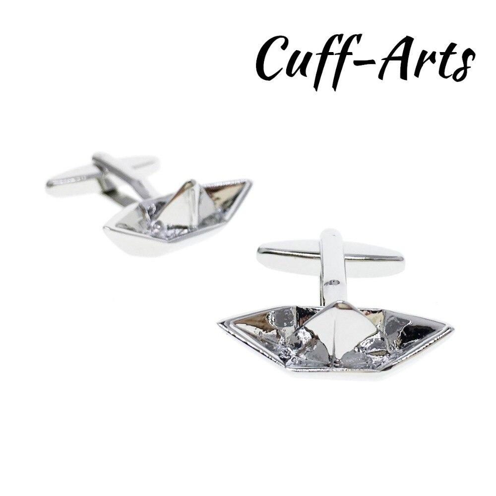 Cufflinks For Mens Paper Boat Cufflinks Gifts For Men Shirt Luxury Cuff Links Gemelos Bouton De Manchette By Cuffarts C10220