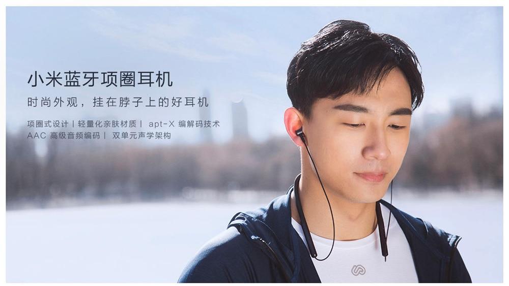 Xiaomi bluetooth neckband earphone -1