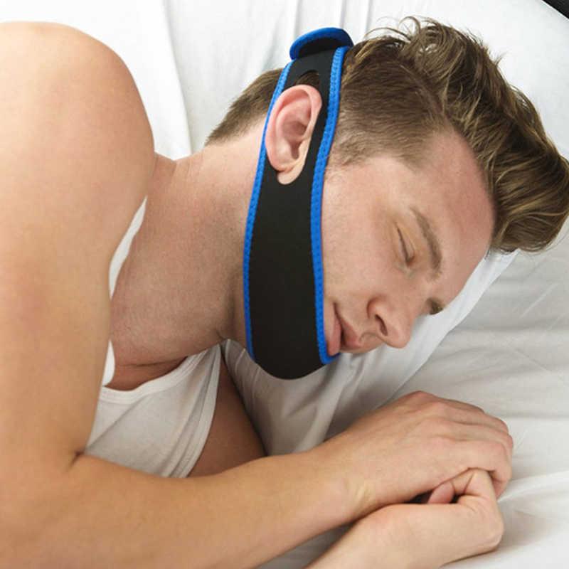 抗いびきあごのストラップ口ガードガードストップブラキシズム抗 Ronquidos 鼻いびきソリューション呼吸いびきストッパー睡眠のため