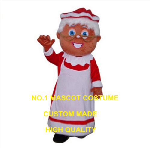 Us 235 0 Christmas Santa Claus Mascot Costume Ms Santa Claus Custom Cartoon Character Cosplay Carnival Costume 3385 In Mascot From Novelty Special
