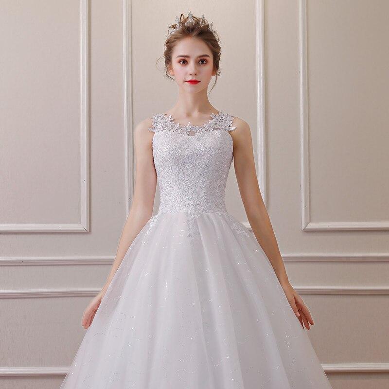 QQ Lover 2019 Lace Ball Gown Wedding Dress Free Shipping Cheap Vestido De Noiva