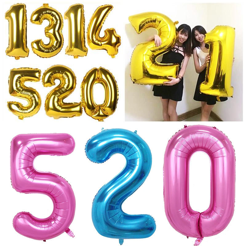 40 inch foil balloons large balloons Helium Balloon big wedding happy Birthday b