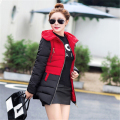New 2016 women parkas for winter jacket women Warm casual winter-clothing parka Female D821