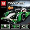 LEPIN 20003 Série Technic A 24 horas de Carro de Corrida Montagem Blocos De Construção de Tijolos 1280 pcs Brinquedos