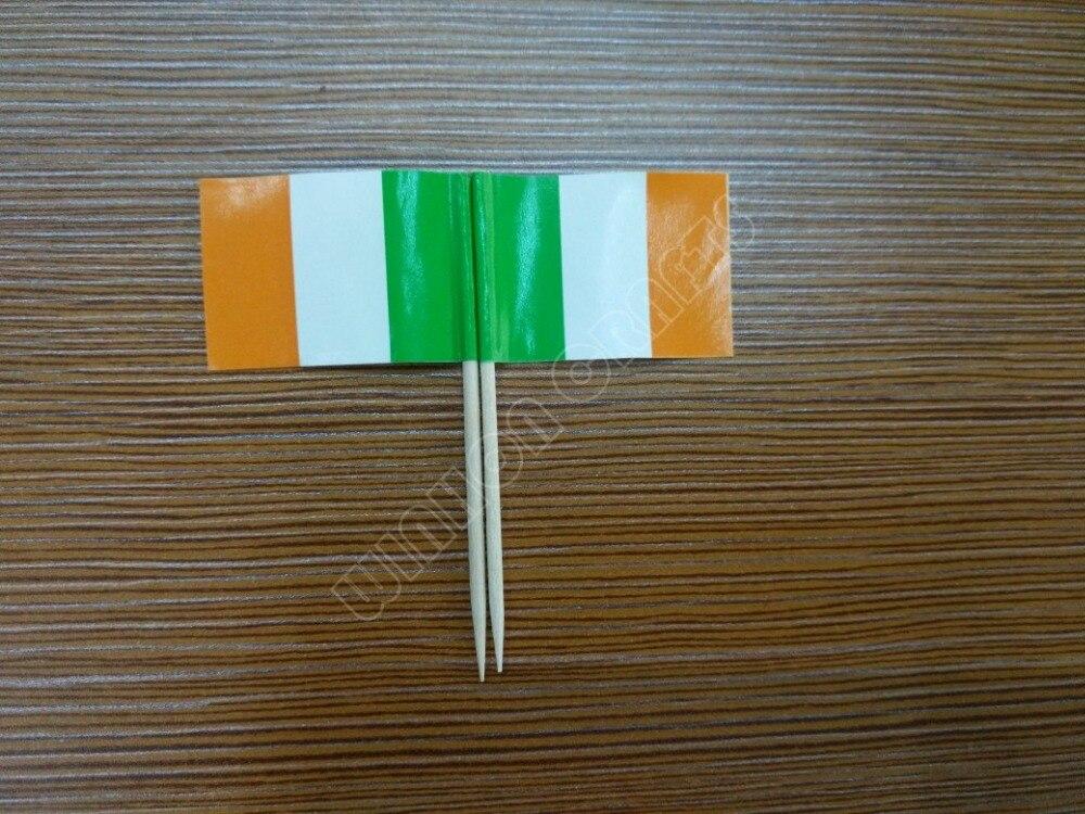 Drapeaux cure-dent Irlande Drapeau Drapeau minipicker Fête Cure-dent