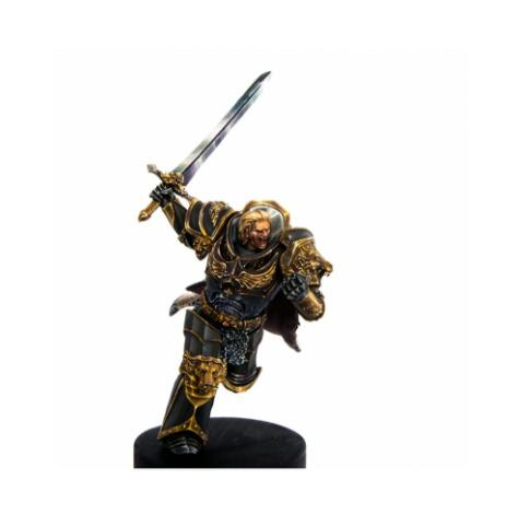 1/32 52mm Lion Knight Ruler 52mm    Toy Resin Model Miniature Kit Unassembly Unpainted