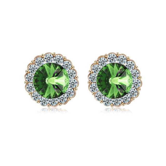 fancy wixon jewelry jewelers diamond cut peridot gemstone earrings stone