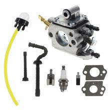 цена на Carburetor For Stihl MS192 MS192T MS192TC Chainsaw Zama C1Q-S258 Carb Fuel Hose Replace For ZAMA C1Q-S258 High Quality